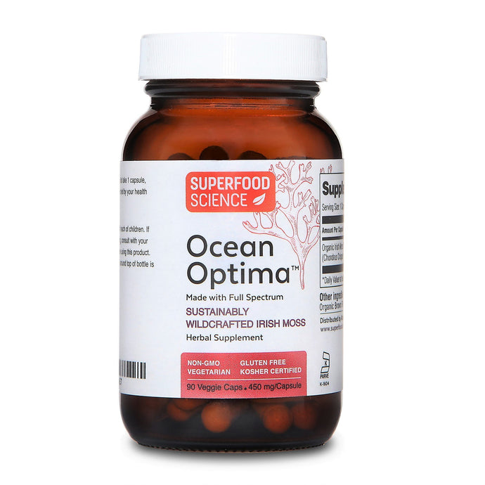 Ocean Optima Irish Sea Moss Supplement