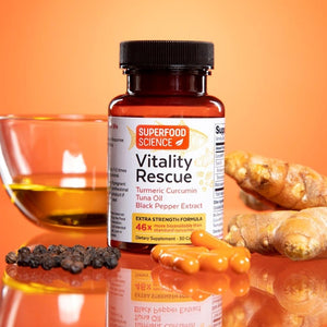 Vitality Rescue™ Turmeric Curcumin Supplement