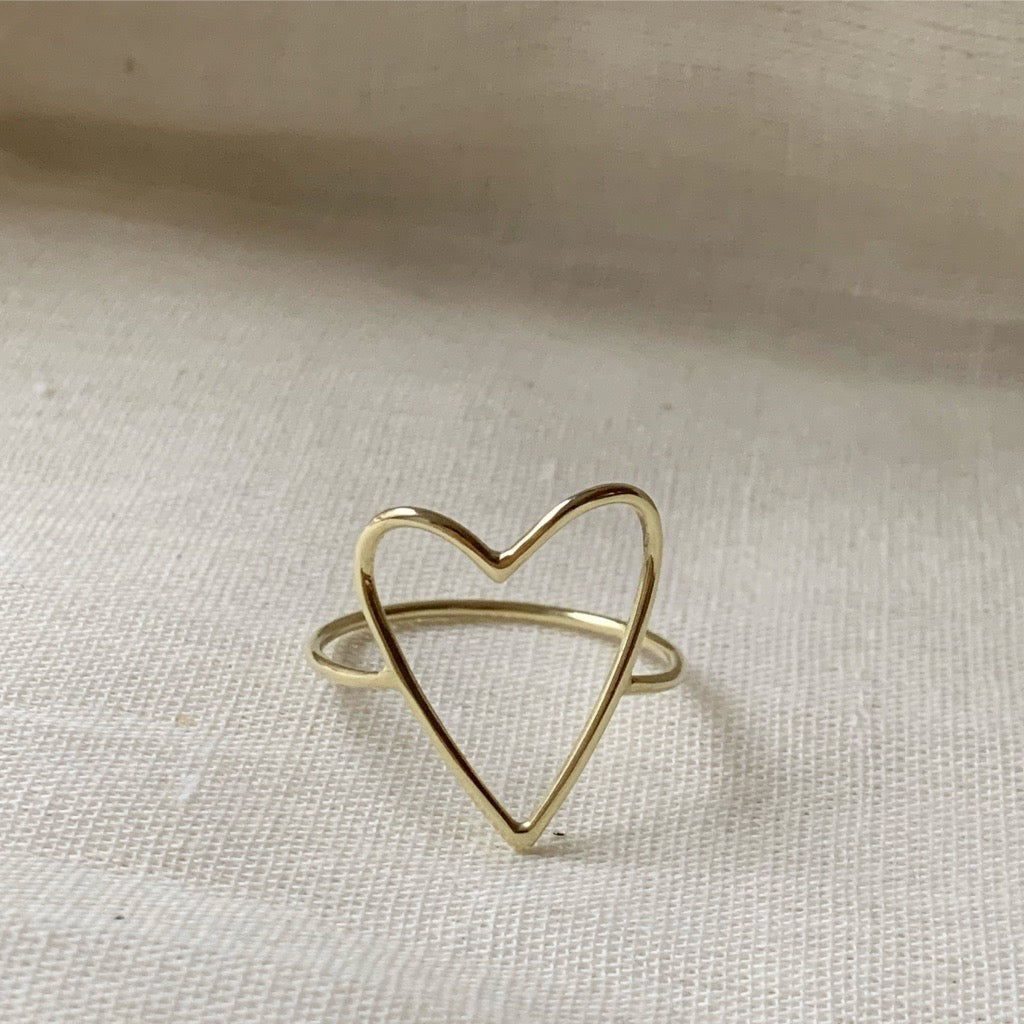 Ring | The big heart gold