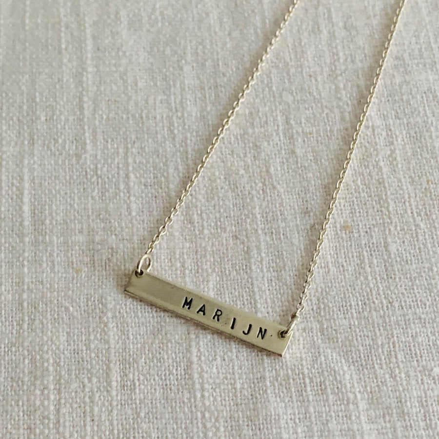 Necklace | The silver bar