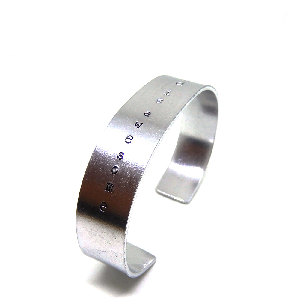Text Bracelet | The XL Vertical