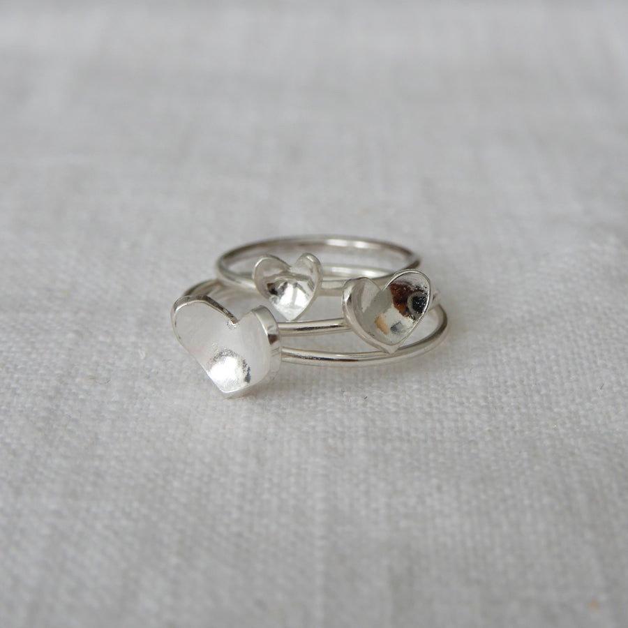 Ring | The cupped heart