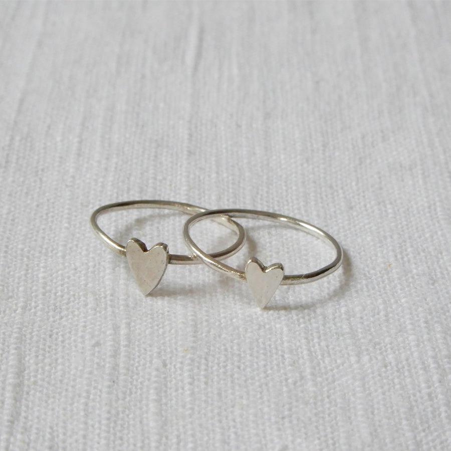 Ringen | Tiny heart set