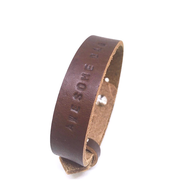 Text Bracelet | The Awesome Dad
