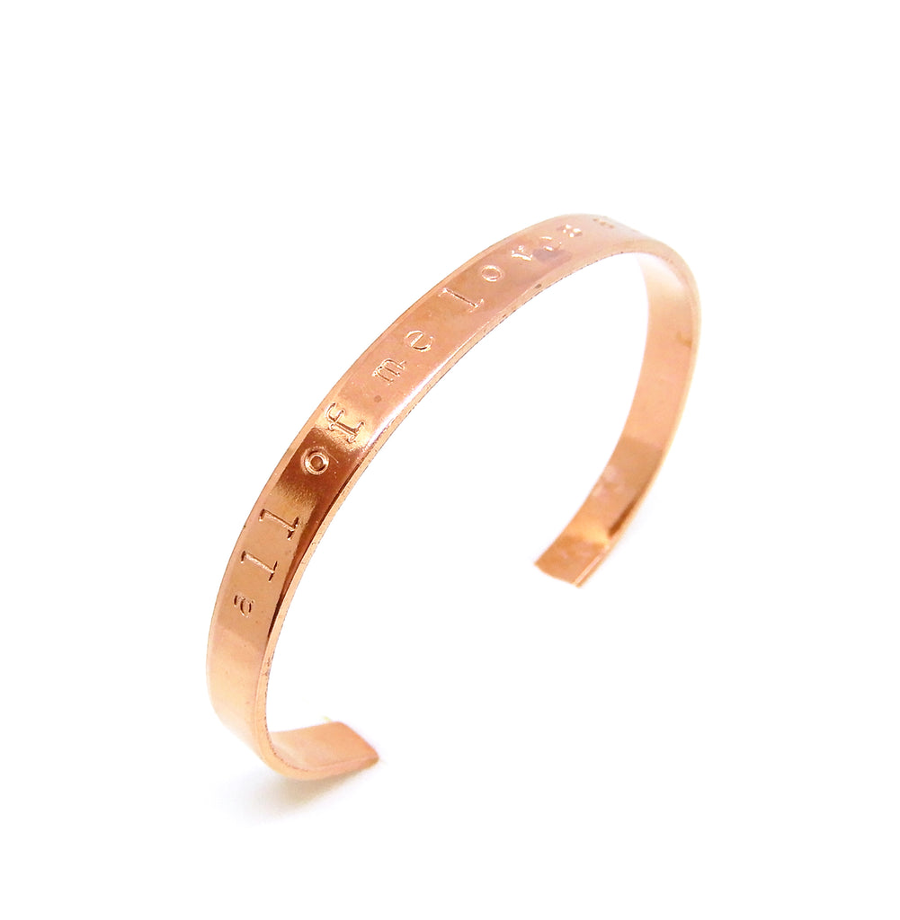 Text Bracelet | The Copper