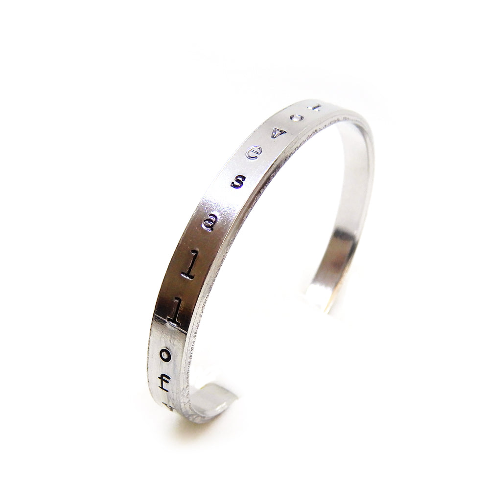 Text Bracelet | The Vertical