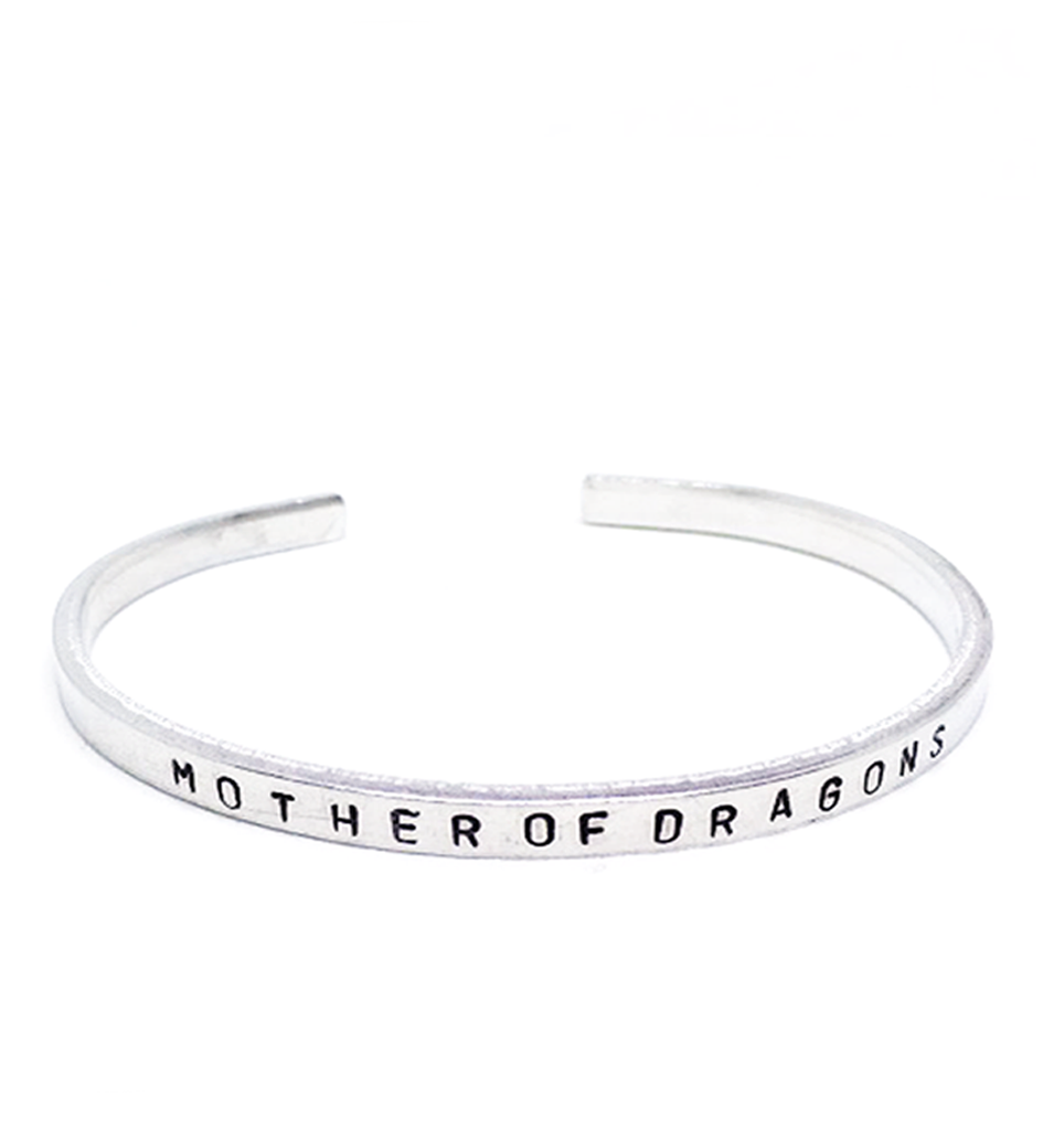 Text Bracelet | The Dragon mom