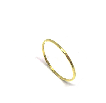Ring | The stackable brass