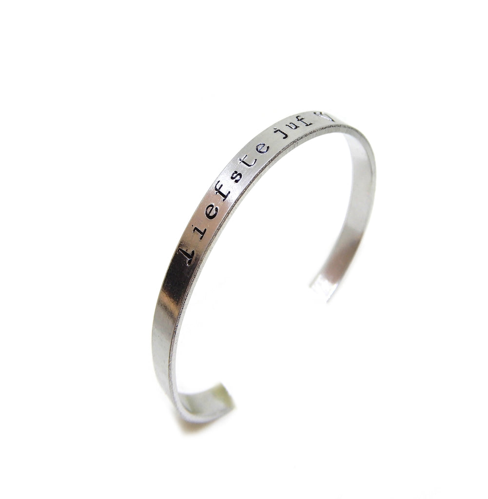 Text bracelet | The teacher