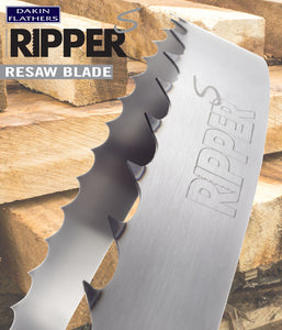 "1"" x 035 Dakin Flathers Ripper S Notch Edge Bandsaw Blade (Full Box)"