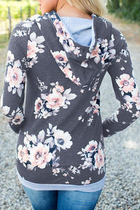 AmourFab Flower Field Casual Hoodies
