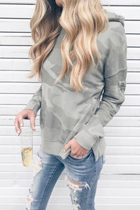 AmourFab Casual Hooded Camouflage Hoodies