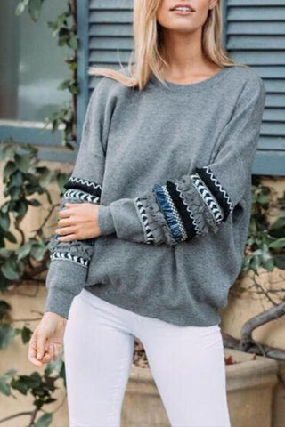 AmourFab Beauty Of Patchwork Hoodies