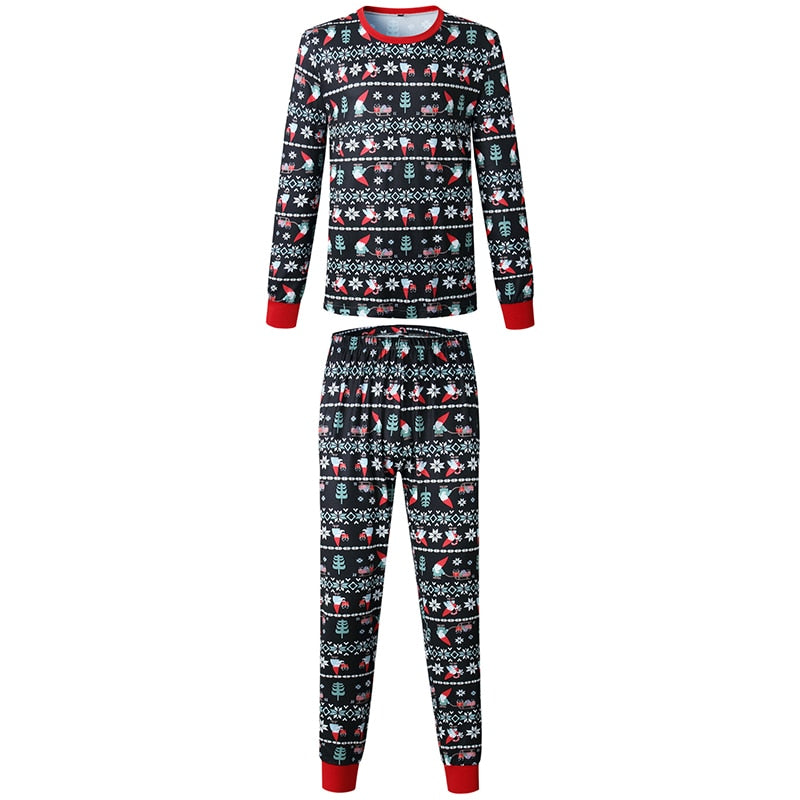 baf0ee092758 Christmas Family Matching Clothes Cotton Pajamas – AmourFab