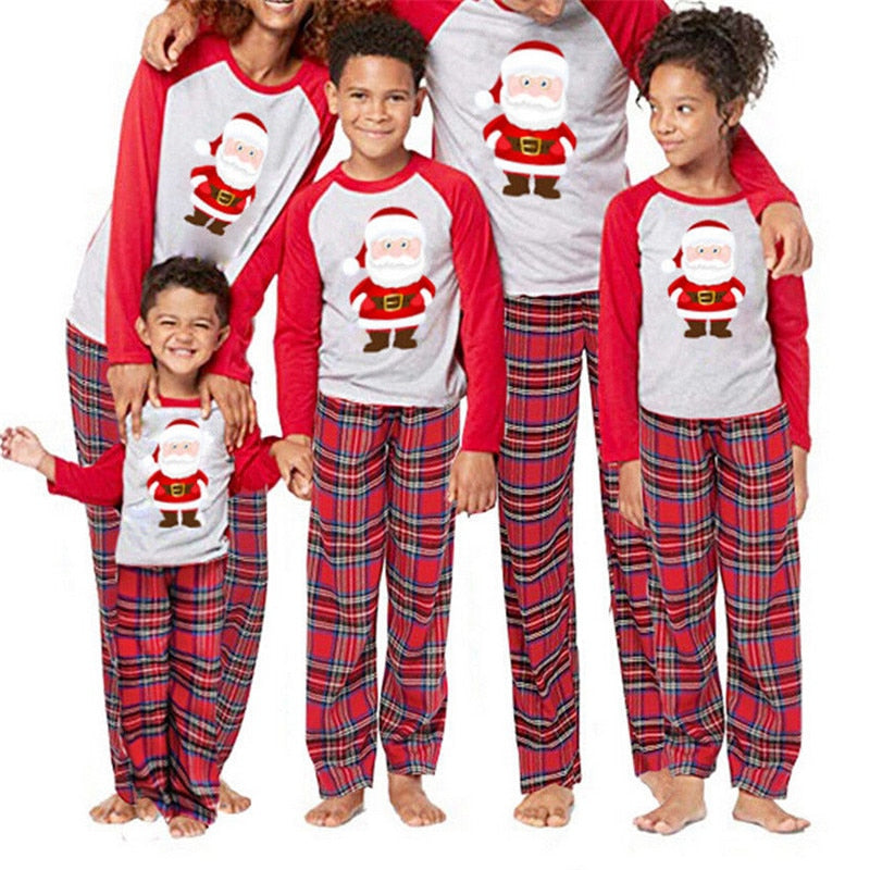 Matching Family Christmas Pajamas.Cute Santa Claus Pajamas For Family Matching Christmas Pajamas Set