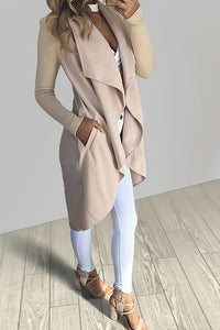 AmourFab Pocket Solid Color Coat (4 Colors)