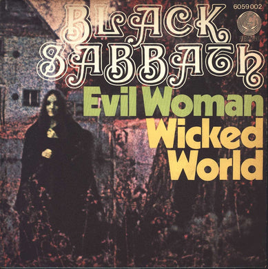 Evil Woman, Don't Play Your Games With Me / Wicked World / Paranoid / The Wizard