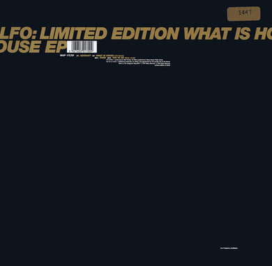 LFO - What Is House EP