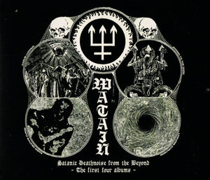 Watain - Satanic Deathnoise From The Beyond - The Four First Albums