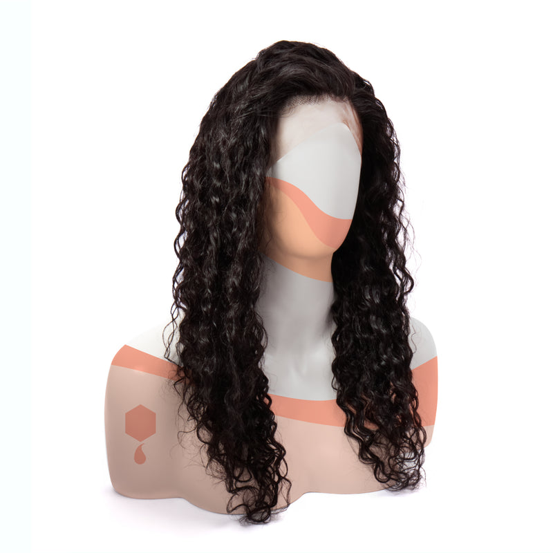 Peruvian Curly + Confident Lace Wig