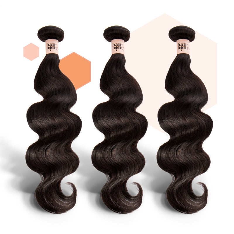 Peruvian Wavy Three-Piece Bundle