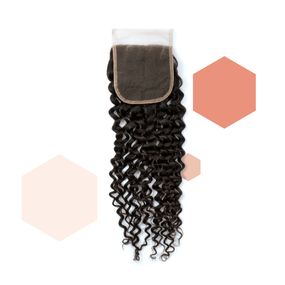 Parting-of-your-choice Brazilian Curly Lace Closure