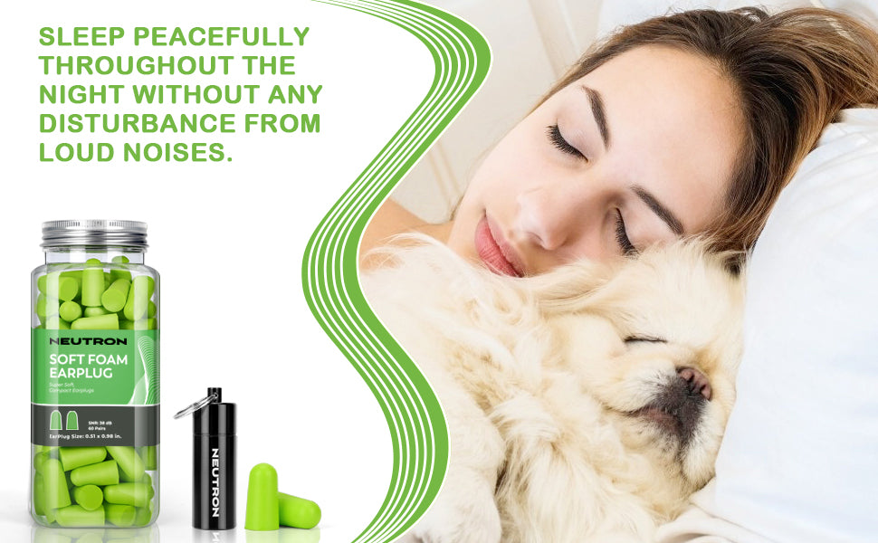 Sleep peacefully at night without any disturbance from load noise