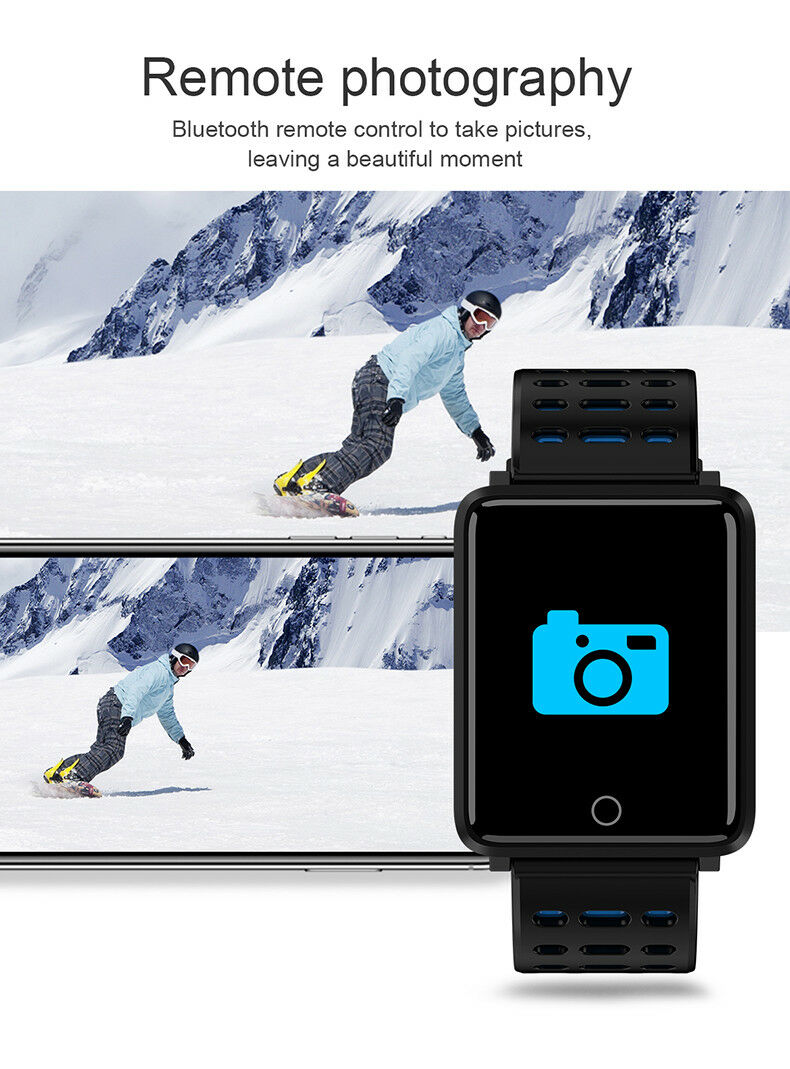 remote photography on smart watch
