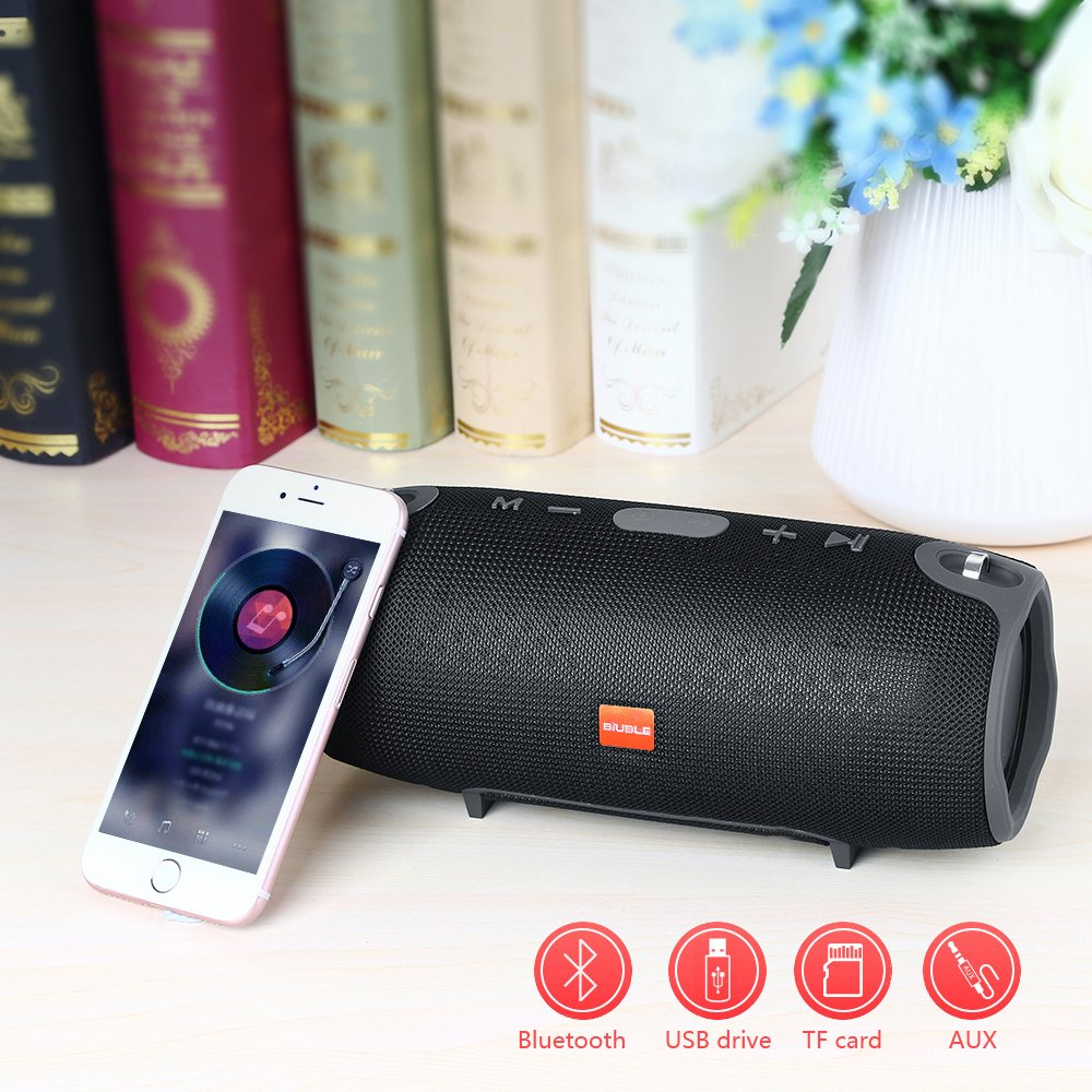 bluetooth speaker with usb, aux and memory card