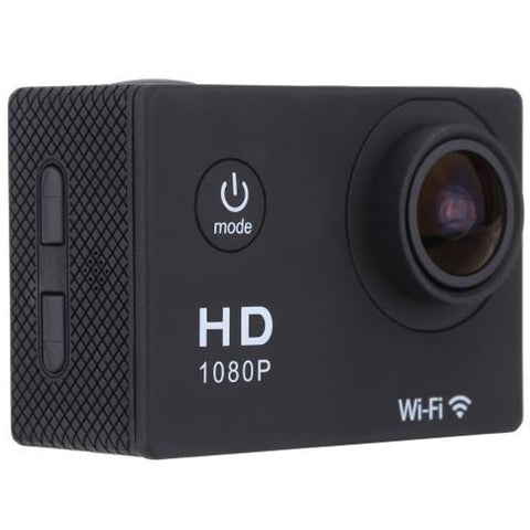 Image of Sports Action Camera 1080p Full HD 12 MP Waterproof Camera with Wifi