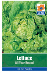 PACKET of LETTUCE All Year Round 1485 VEGETABLE Garden SEEDS
