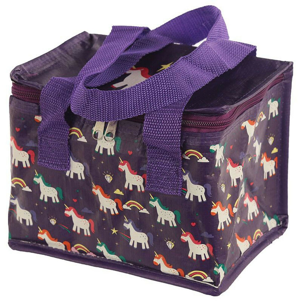 Kids / Childrens Unicorn Insulated Lunch Bags / School Lunch Box