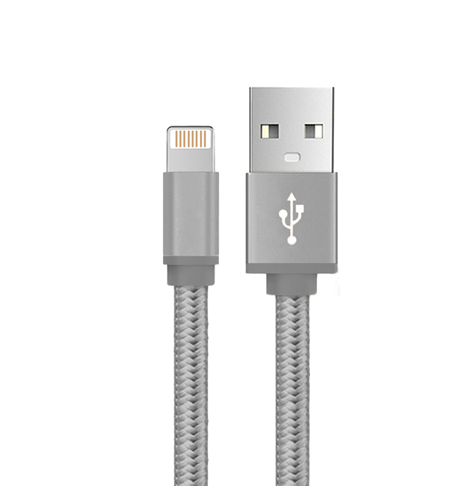 Braided Lightning Cable Charger for Apple iPhone