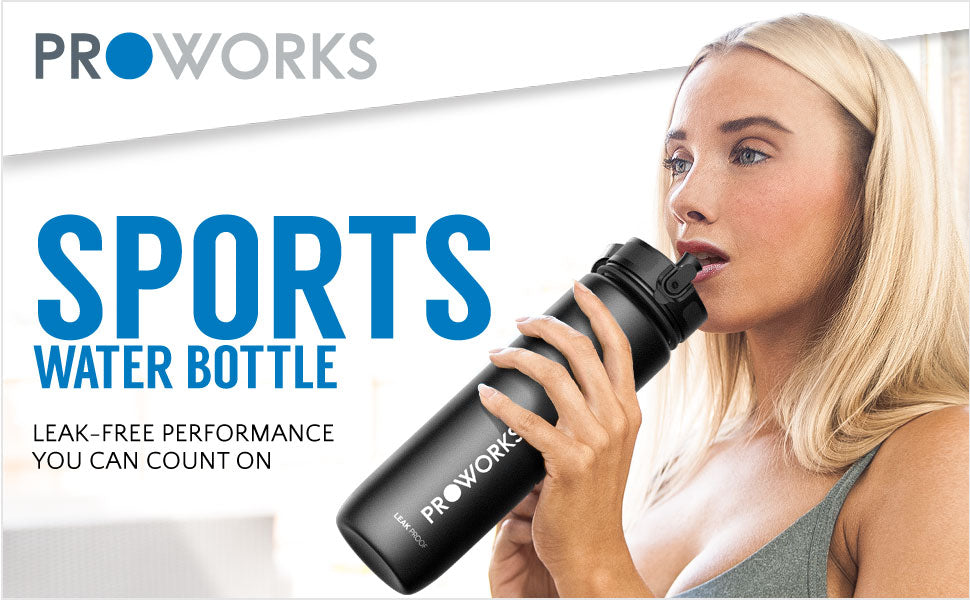 Leak Proof Sports Water Bottle