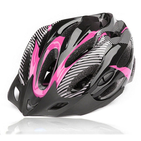 Image of Bicycle Helmet for Adults with Adjustable Straps - Cycling Head Gear for Road / Mountain Cycling