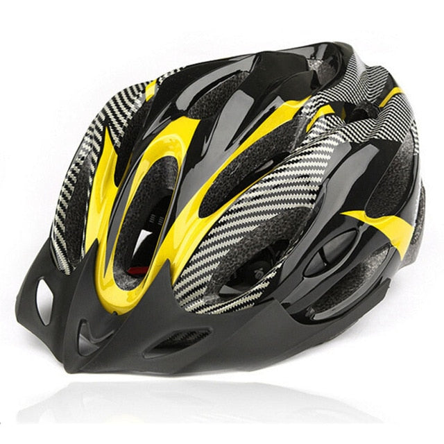 Bicycle Helmet for Adults with Adjustable Straps - Cycling Head Gear for Road / Mountain Cycling