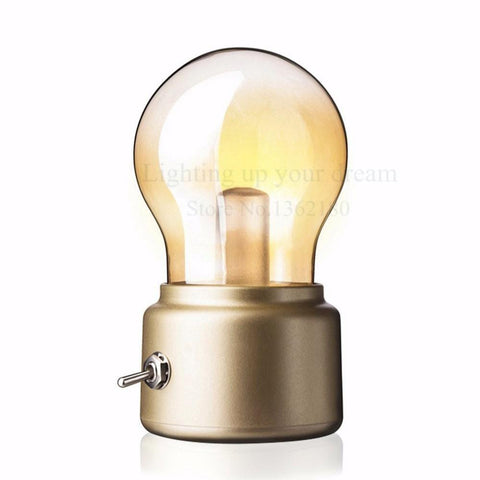 Image of Vintage USB Rechargeable LED Nightlight