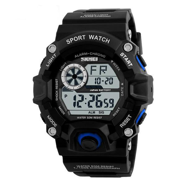 Waterproof Sports Digital Watch