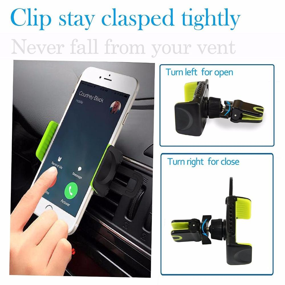 Car Phone Holder with None-Perfume Stick Mount