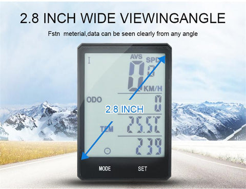 Image of Touch Screen Bike Speedometer