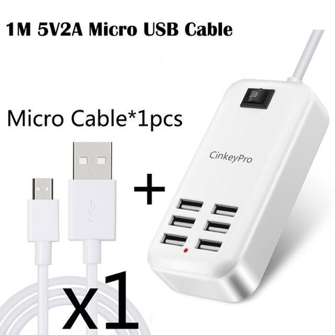 Image of Multiple Ports USB Charger Adapter