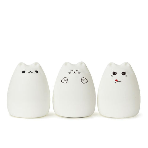 Image of LED Cat Touch Night Light