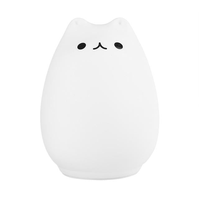 LED Cat Touch Night Light