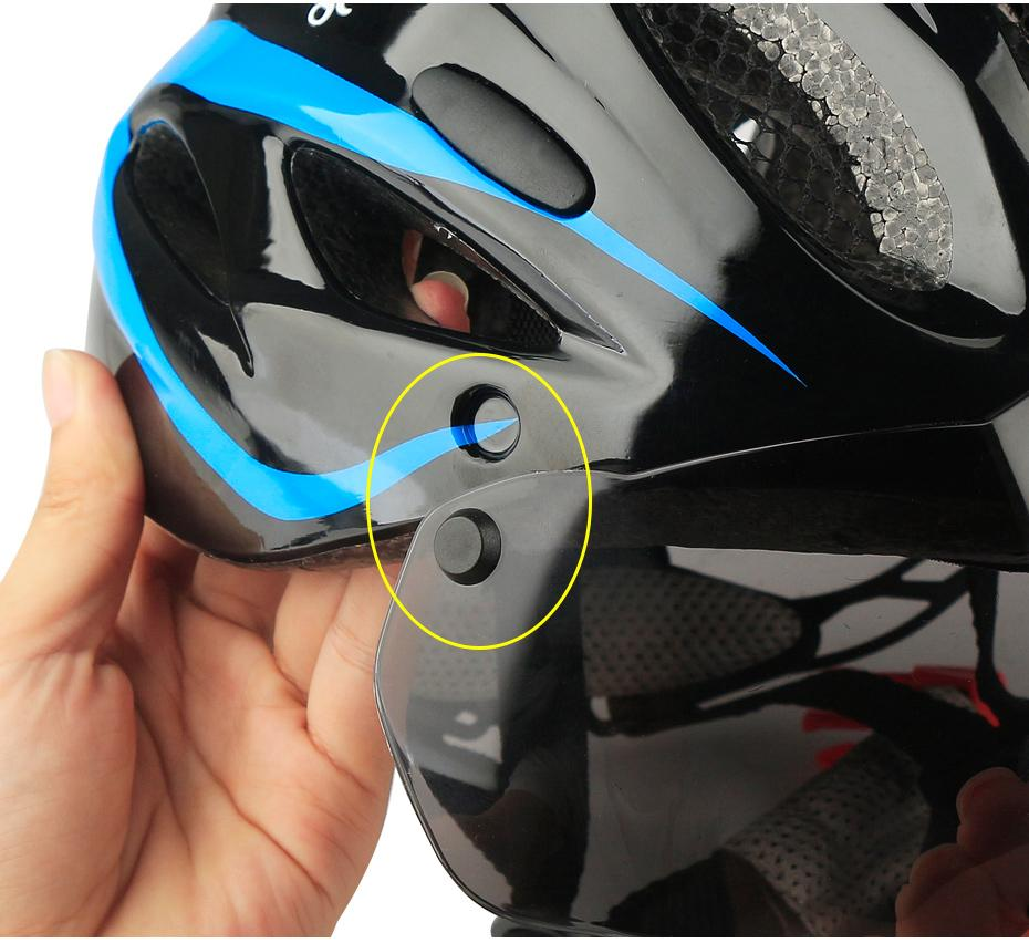 CoolChange Windproof Lens Bike Helmet