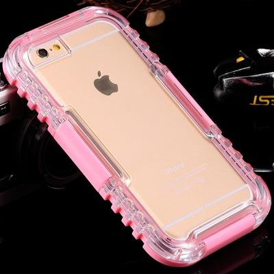 Image of Waterproof Heavy Duty Hybrid iPhone Mobile Case Bag for Swimming/Diving