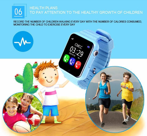 Image of ITORMIS Kids Waterproof Smart Watch with Safety GPS Location & Tracker