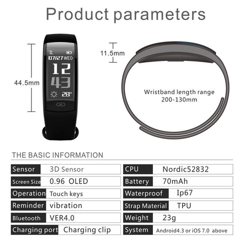 Image of Diggro QS90 Smart Watch with Heart Monitoring