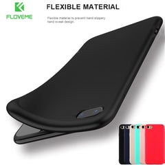 Soft Silicone Matte Case for Apple iPhone 6/7/8/X