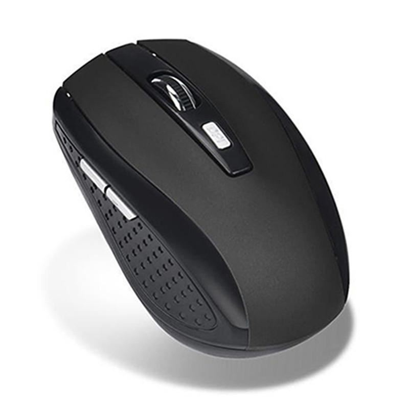 Wireless Ergonomic Gaming Mouse with USB Receiver