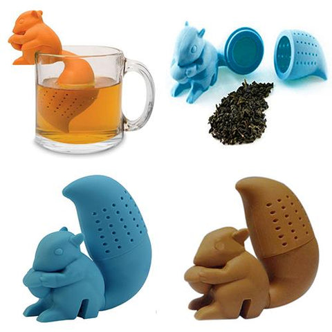 Image of Squirrel Tea Strainer Filter Bag